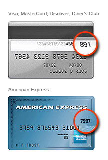 Card ID number examples