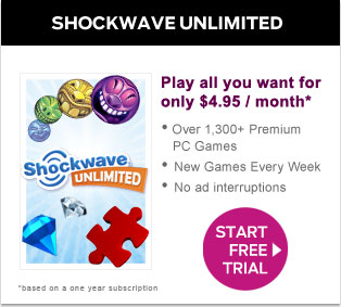 Shockwave Unlimited: Play this game for free for 10 days!!!